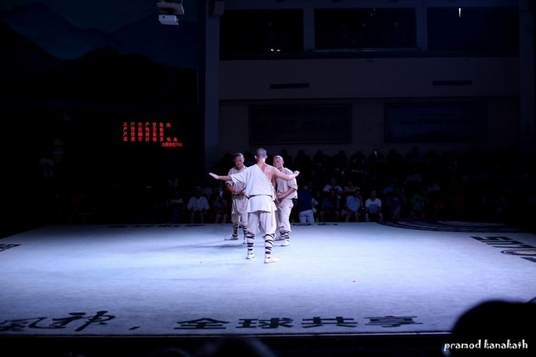 From the Kung Fu show