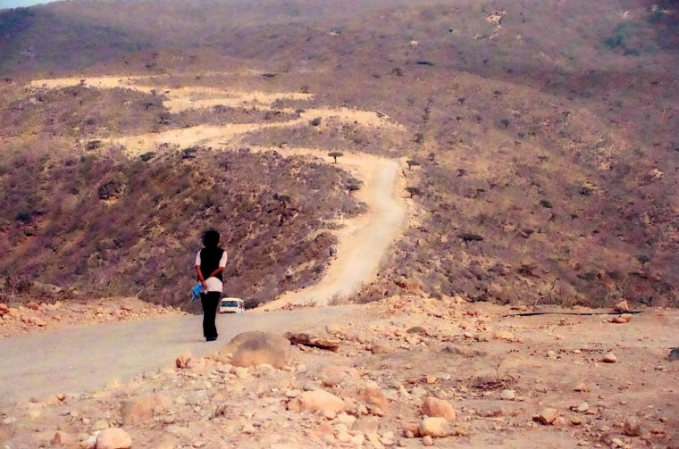 The magnetic hill, Salalah